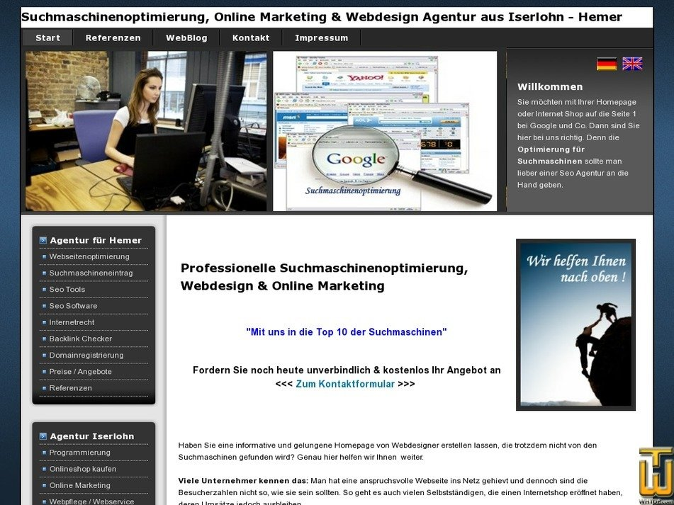 webtechnik.net Screenshot