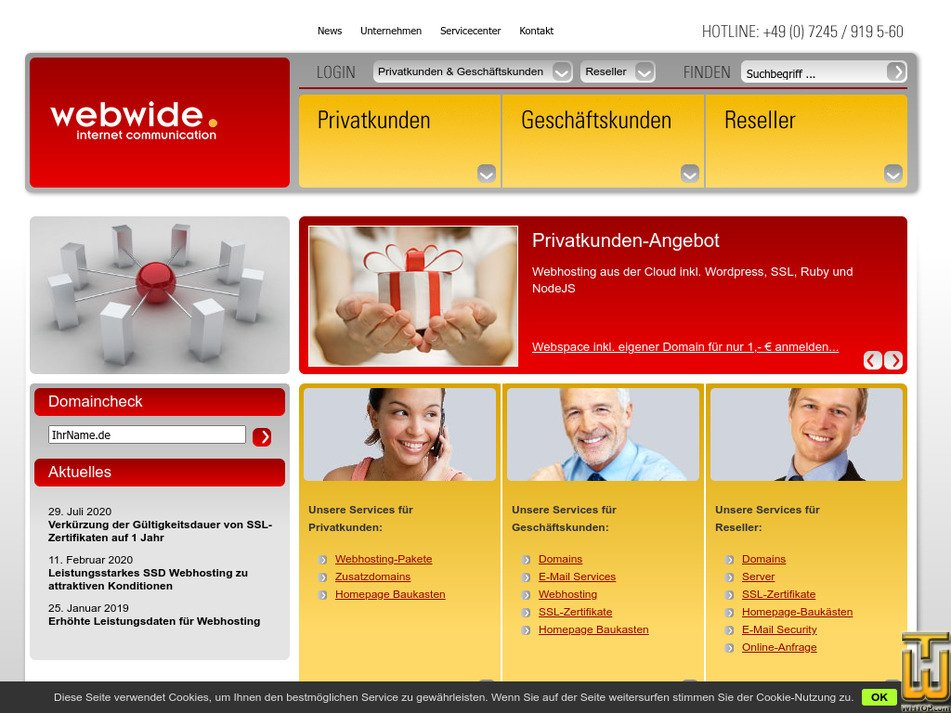 webwide.de Screenshot