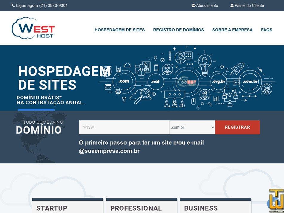 westhost.com.br Screenshot