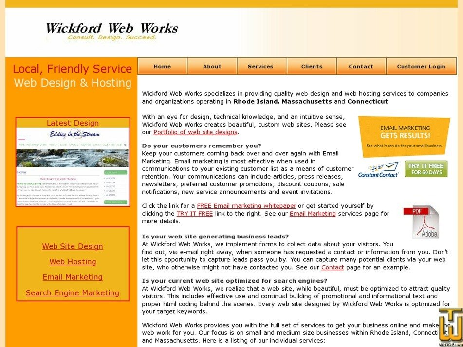 wickfordwebworks.com Screenshot