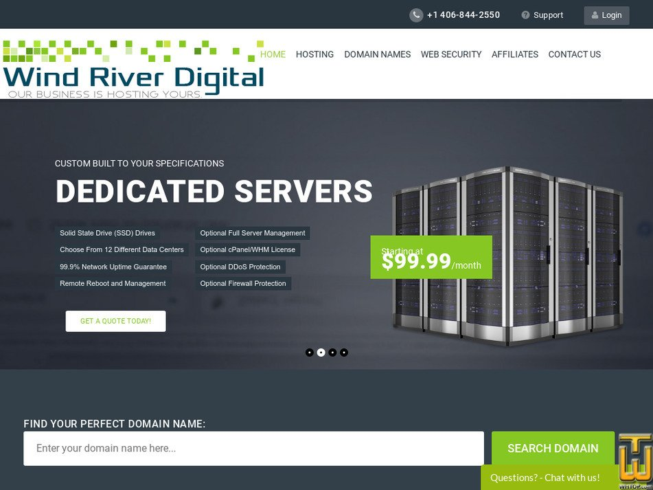 windriverdigital.com Screenshot
