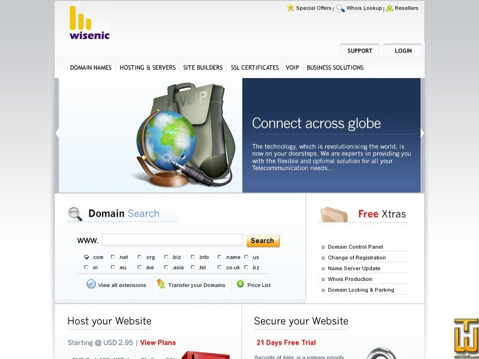 wisenic.com Screenshot
