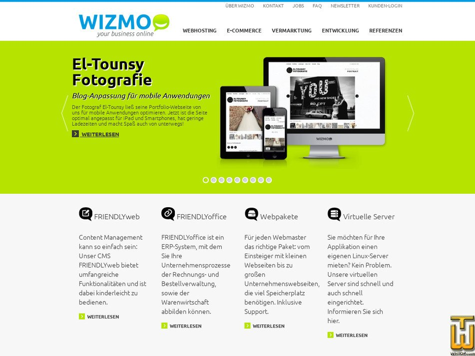 wizmo.de Screenshot