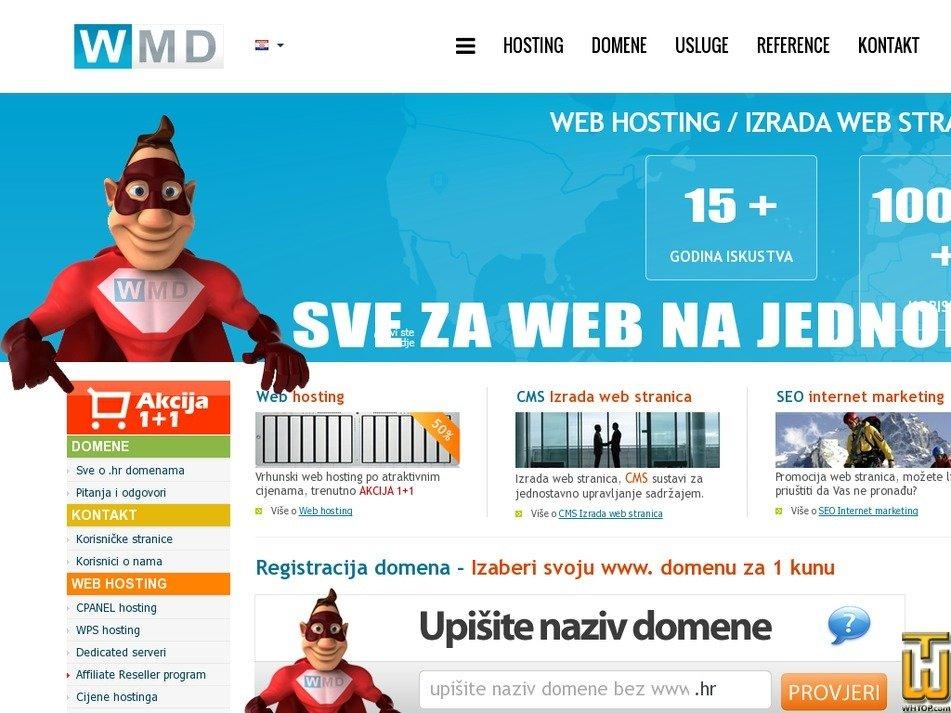 wmd.hr Screenshot