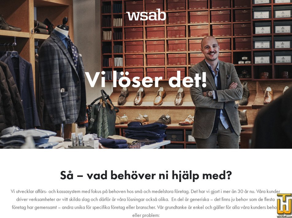 wsab.se Screenshot