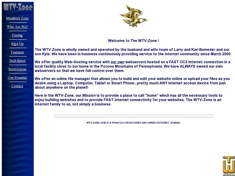 wtv-zone.com Screenshot