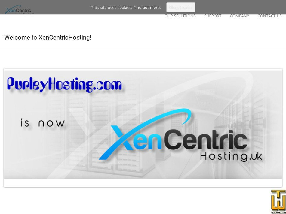xencentrichosting.uk Screenshot