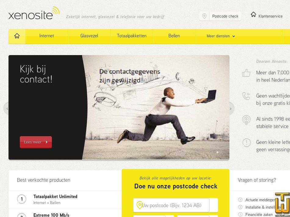 xenosite.net Screenshot