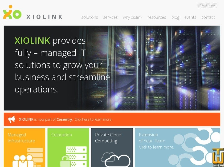 xiolink.com Screenshot
