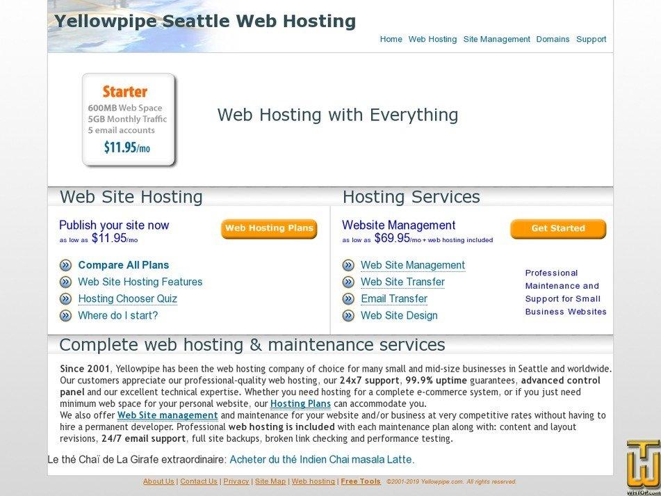 yellowpipe.com Screenshot