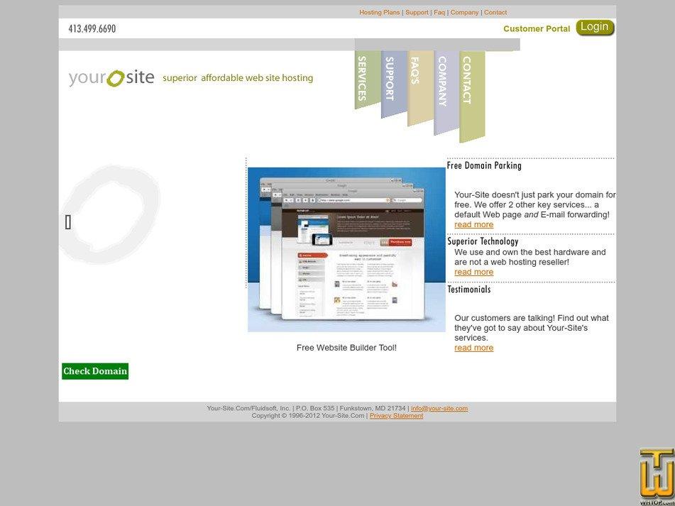 your-site.com Screenshot