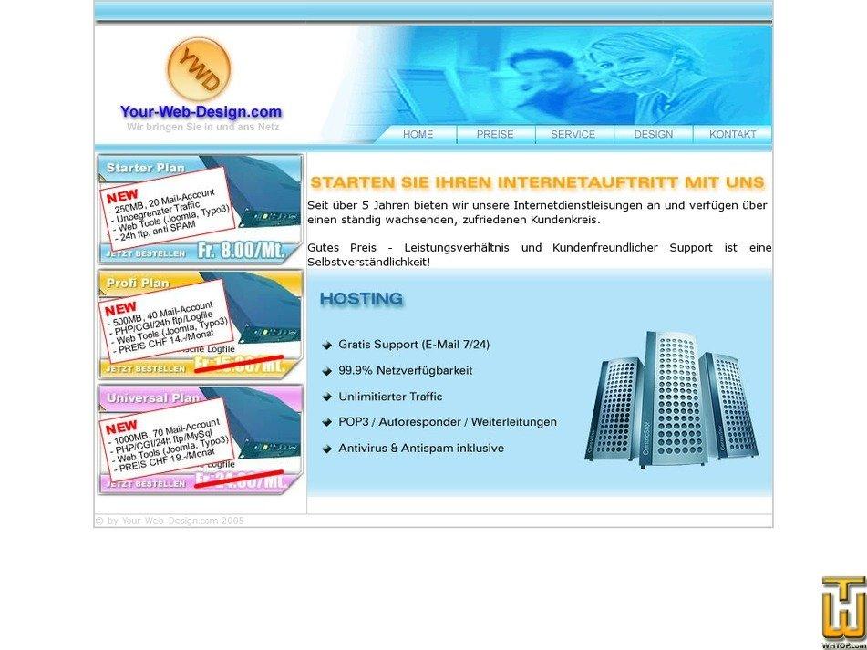 your-web-design.com Screenshot