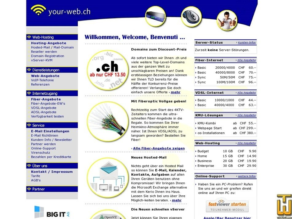 your-web.ch Screenshot