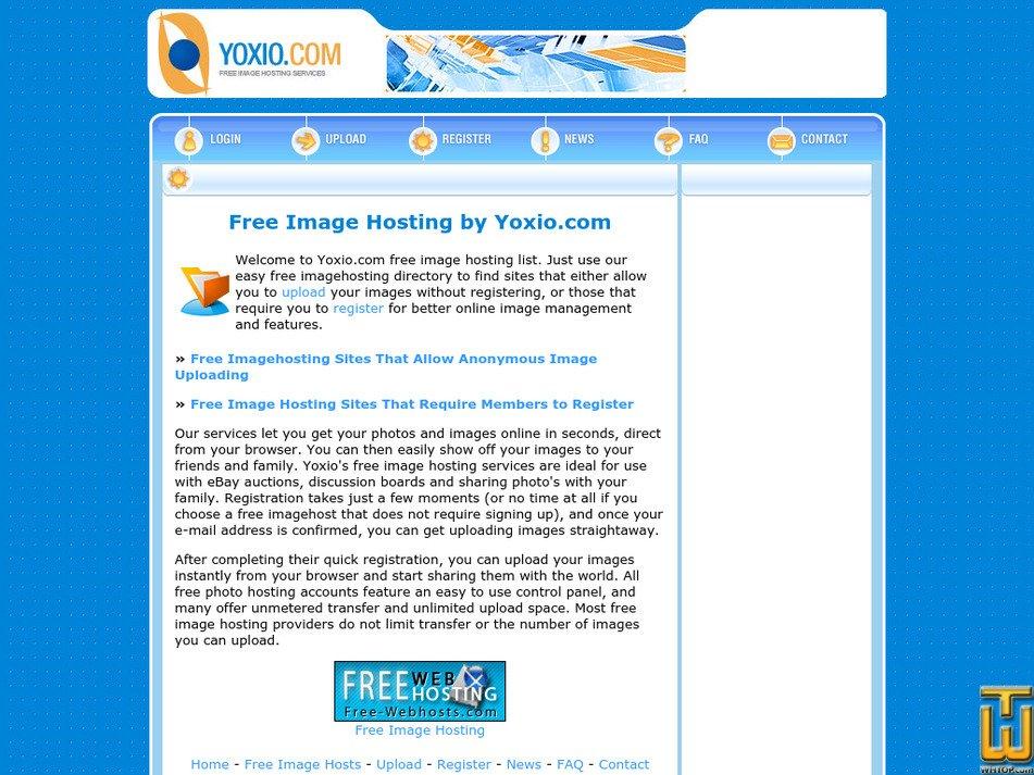 yoxio.com Screenshot
