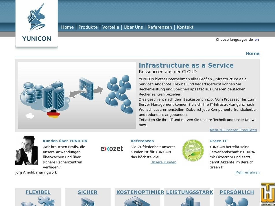 yunicon.net Screenshot