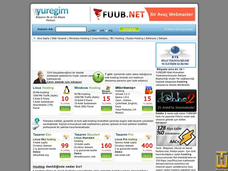 yuregim.com Screenshot