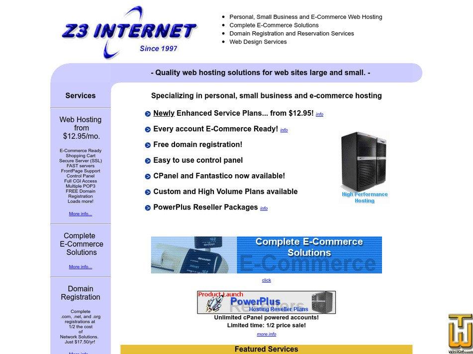 z3.com Screenshot