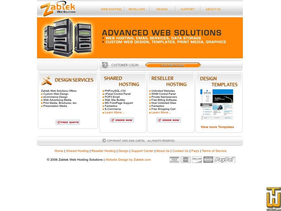 zabtek.com Screenshot