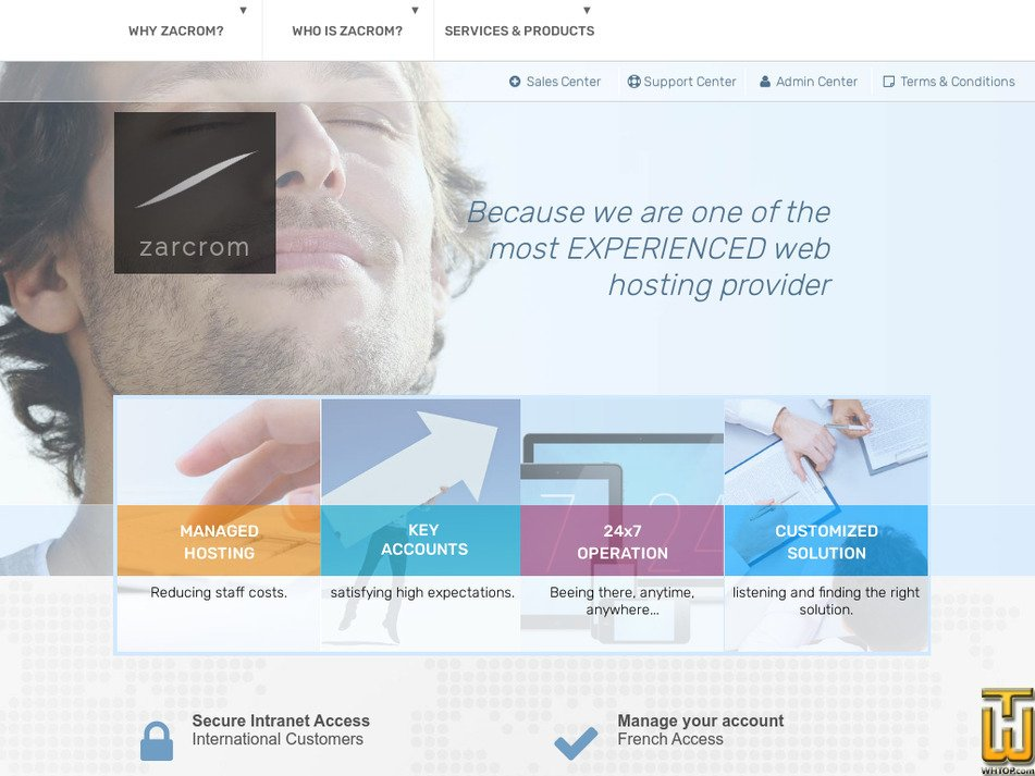 zarcrom.com Screenshot