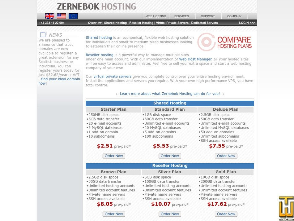zernebok.com Screenshot