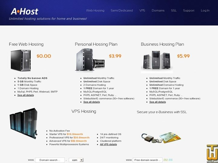 a-host.net Cover