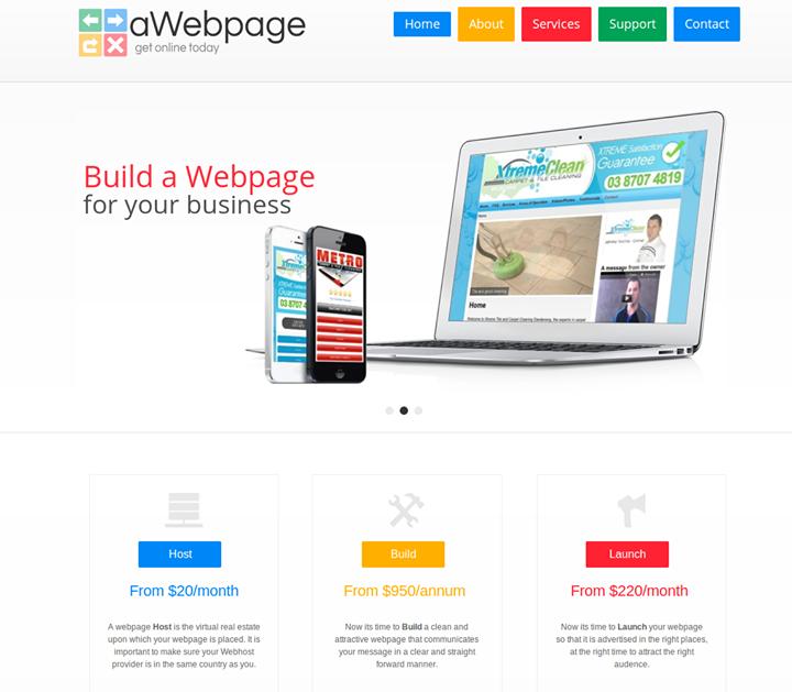 awebpage.com.au Cover