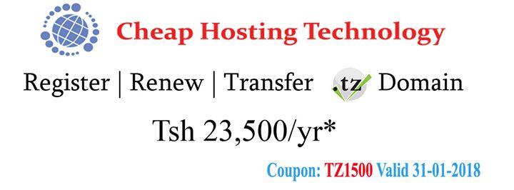cheaphosting.co.tz Cover