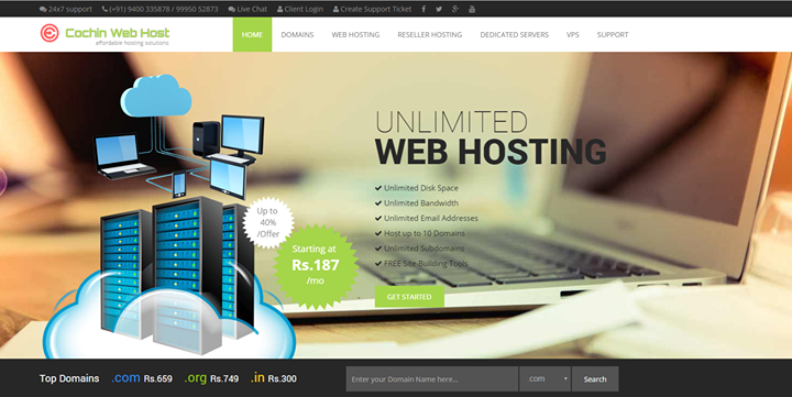 cochinwebhosting.com Cover