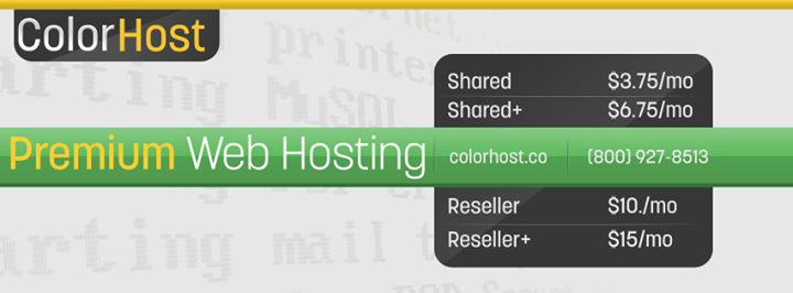 colorhost.net Cover