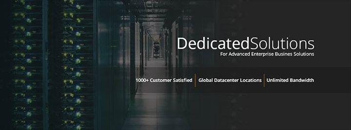 dedicatedsolutions.com Cover