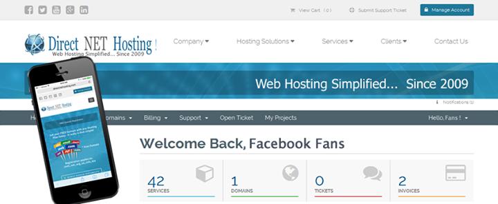 directnethosting.com Cover