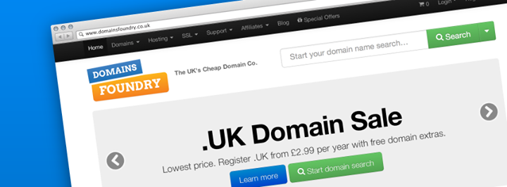domainsfoundry.co.uk Cover