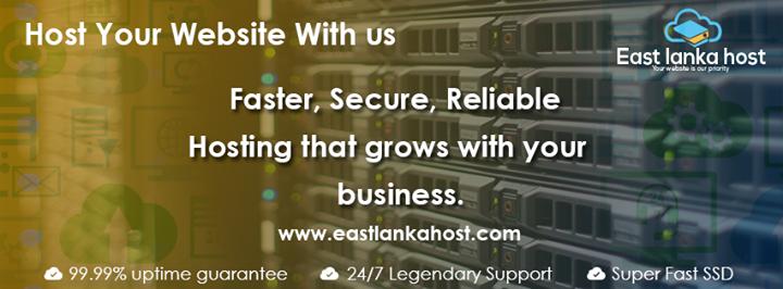eastlankahost.com Cover