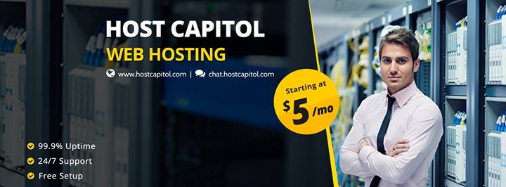 hostcapitol.com Cover