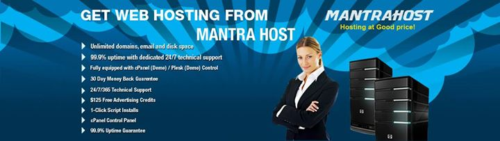 mantrahost.com Cover