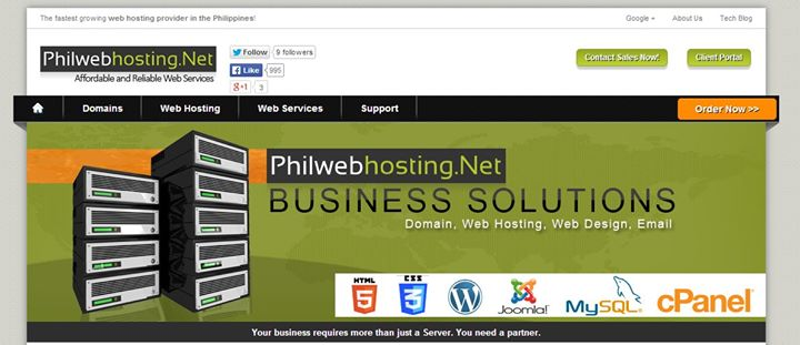 philwebhosting.net Cover