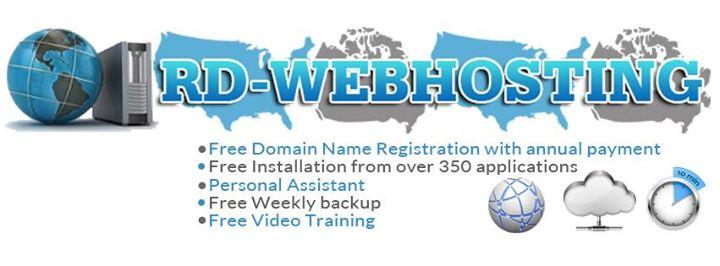 rd-webhosting.com Cover