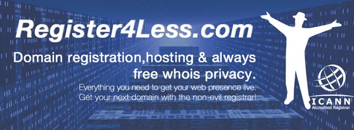 register4less.com Cover