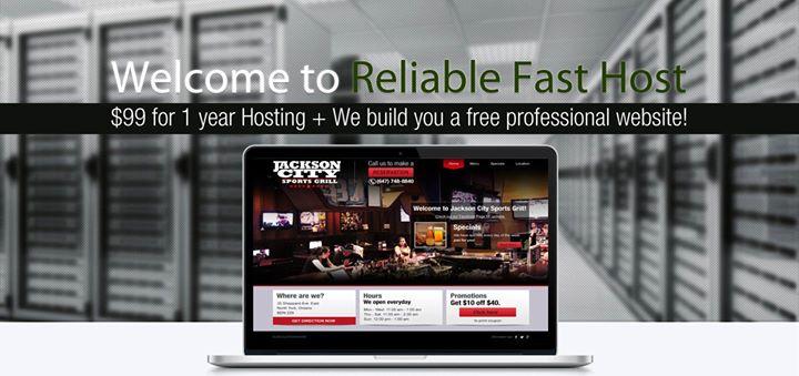 reliablefasthost.com Cover