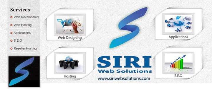 siriwebsolutions.com Cover