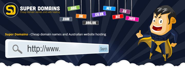 superdomains.com.au Cover