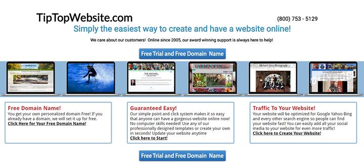 tiptopwebsite.com Cover