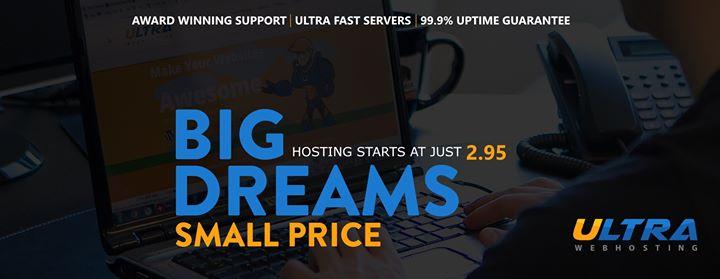 ultrawebhosting.com Cover
