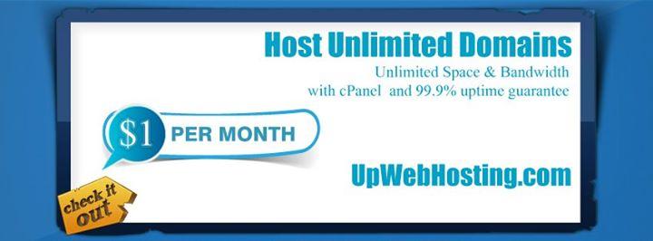 upwebhosting.com Cover