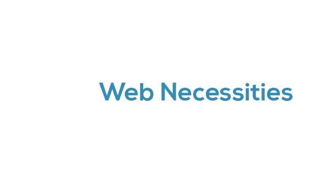 webnecessities.com.au Cover