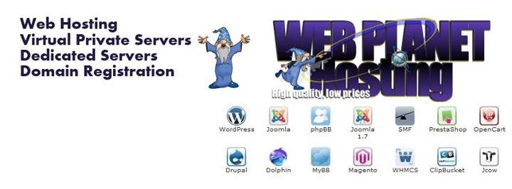 webplanethosting.com Cover