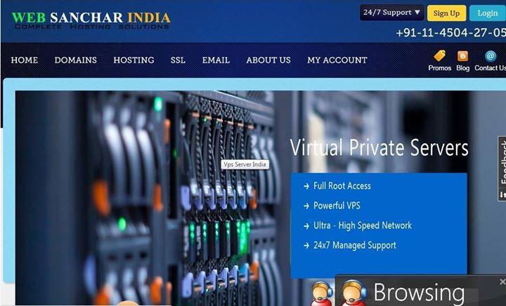 websancharindia.com Cover
