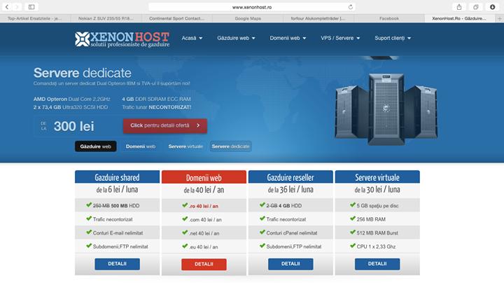 xenonhost.ro Cover