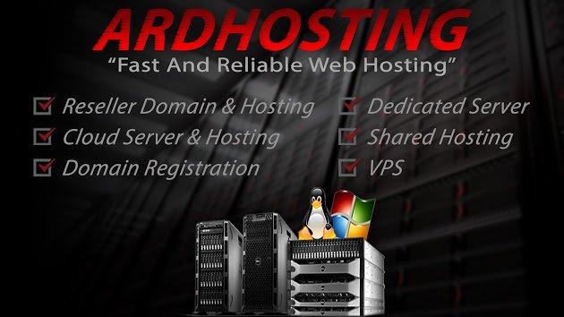 ardhosting.com Cover