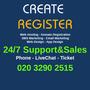 createregister.com logo!